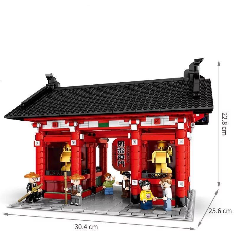 LEGO互換 浅草寺 クールジャパン_画像6