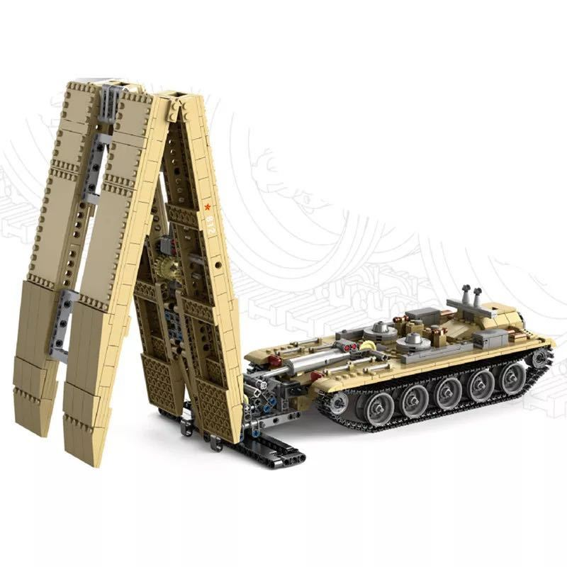 LEGO互換 84式戦車橋 WZ-621_画像2