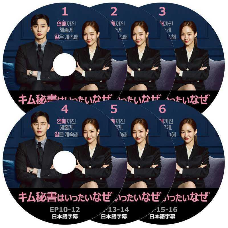 韓国ドラマ キム秘書がなぜそうか DVD版 (全16話)( 6枚SET)《日本語字幕あり》