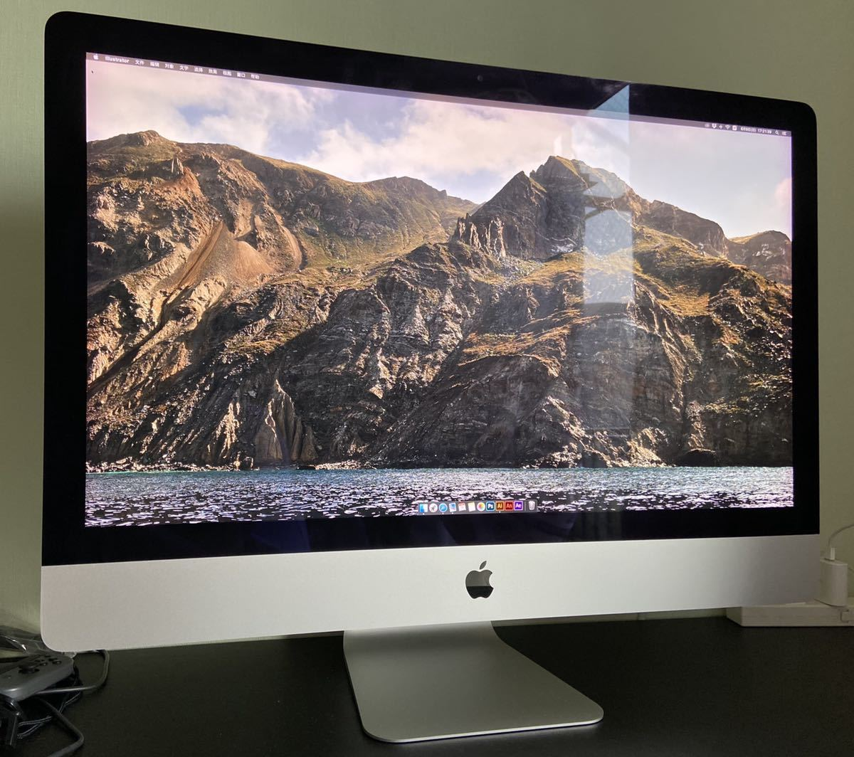 【美品】Apple iMac Retina 5K 27-inch Late 2015/macOS Catalina 10.15.6 /Intel Core i5 3.3 GHz/RAM:24GB/HDD:2TB/動作品/本体のみ