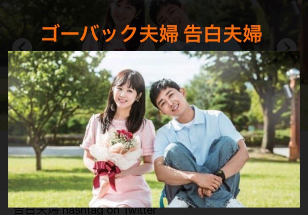 韓国ドラマ ゴーバック夫婦 告白夫婦 ブルーレイ