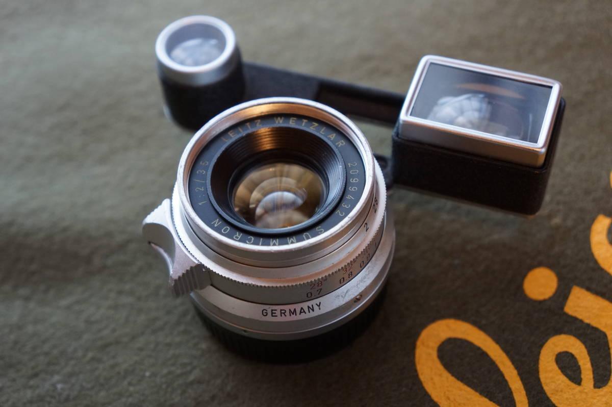 ズミクロン35mmf2(8枚玉ドイツ製)