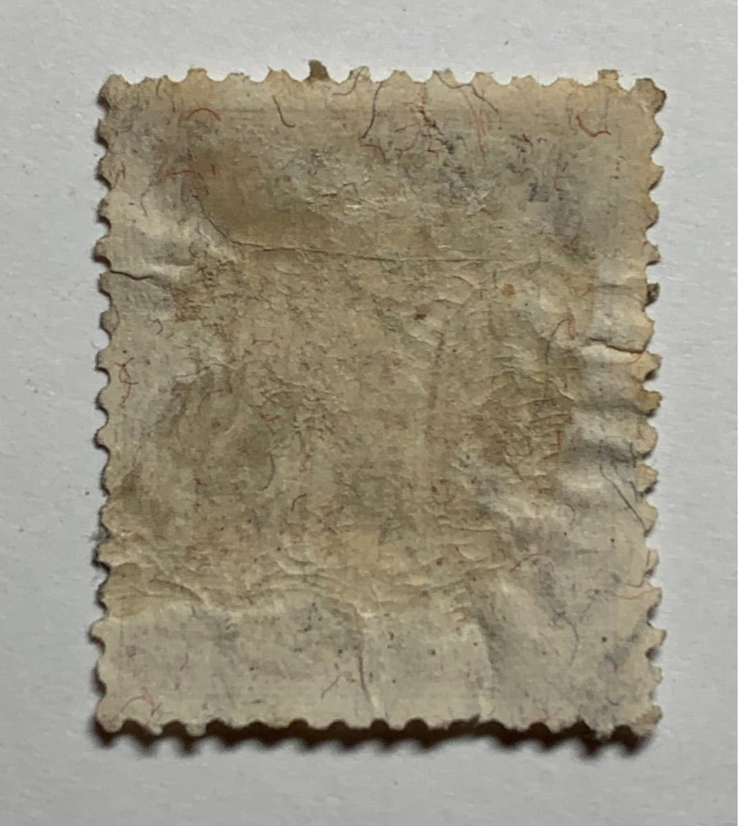 【支那加刷/PEKING】10.5.17/I.J.P.O ※旧大正毛紙1/2銭_画像2