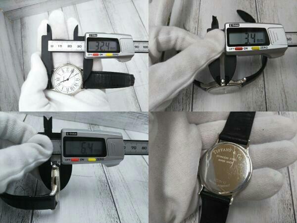 【TIFFANY&Co.】 ティファニー 900294143 クォーツ 腕時計 中古_画像4