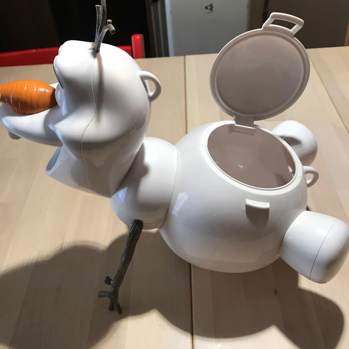 オラフのポップポーンバスケット—Tokyo Disney RESORTロゴ有り—