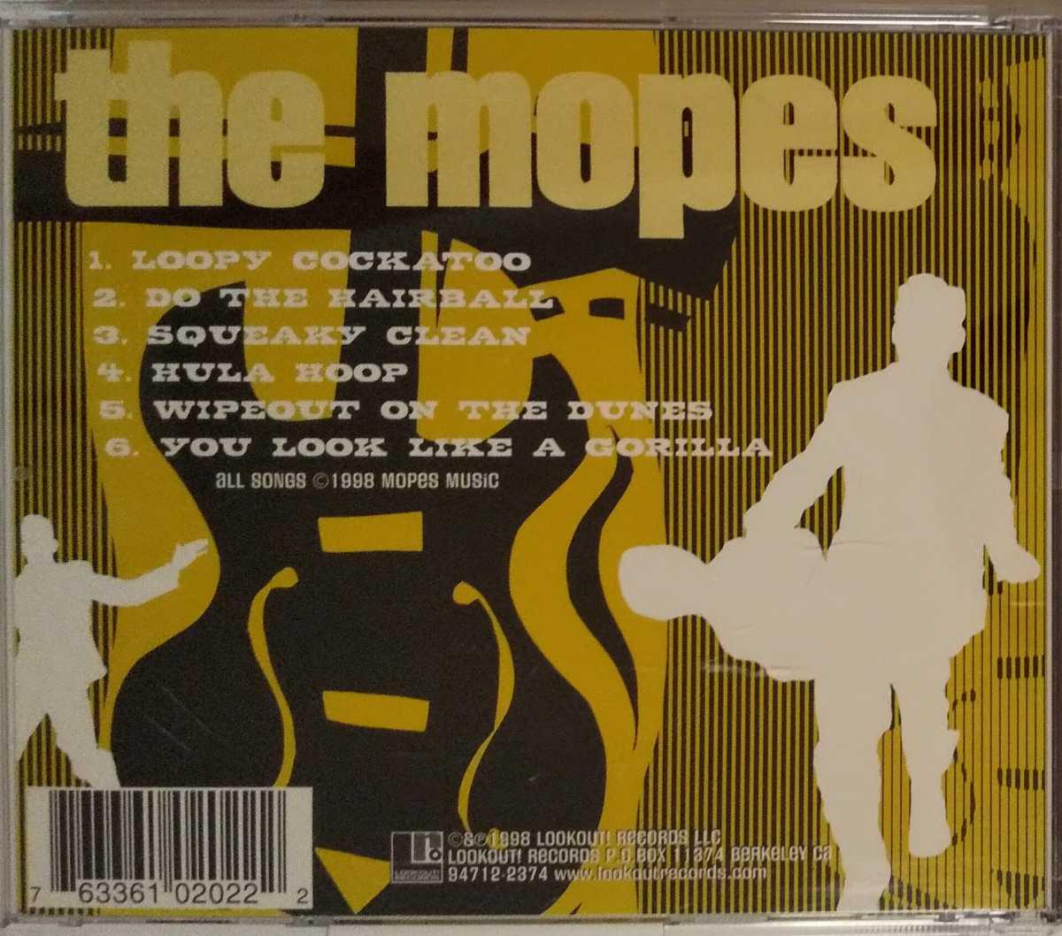 The Mopes Lowdown Two-Bit Sidewinder! CD Pop Punk Screeching Weasel Queers