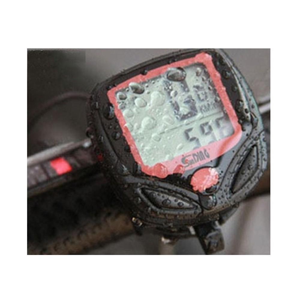 Sunding SD-548B 多機能 自転車用 サイクルコンピューター スピード 最高 平均スピード 距離 オドメーター トリップメーター 時間_画像4