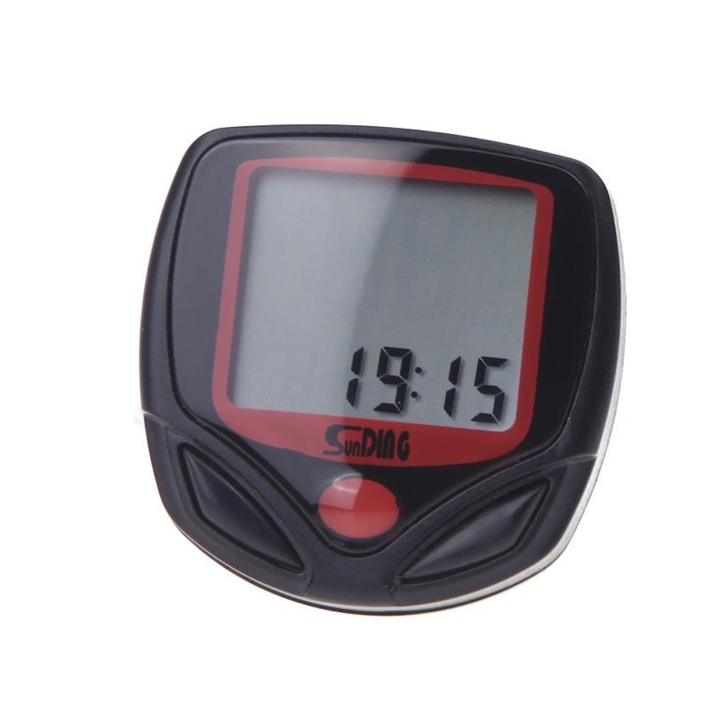 Sunding SD-548B 多機能 自転車用 サイクルコンピューター スピード 最高 平均スピード 距離 オドメーター トリップメーター 時間_画像5