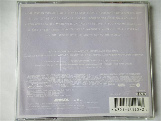 『CD Whitney Houston(ホイットニー・ヒューストン) / The Preacher's Wife:Original Soundtrack Album ★Bobby Brown Johnny Gill』_画像3