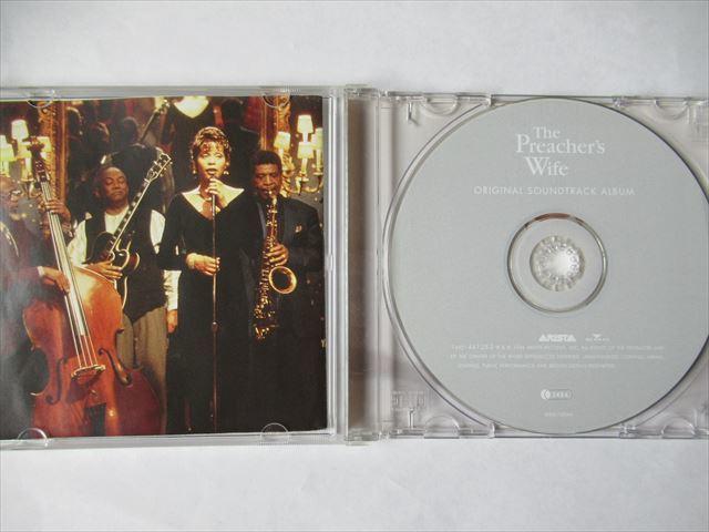 『CD Whitney Houston(ホイットニー・ヒューストン) / The Preacher's Wife:Original Soundtrack Album ★Bobby Brown Johnny Gill』_画像2
