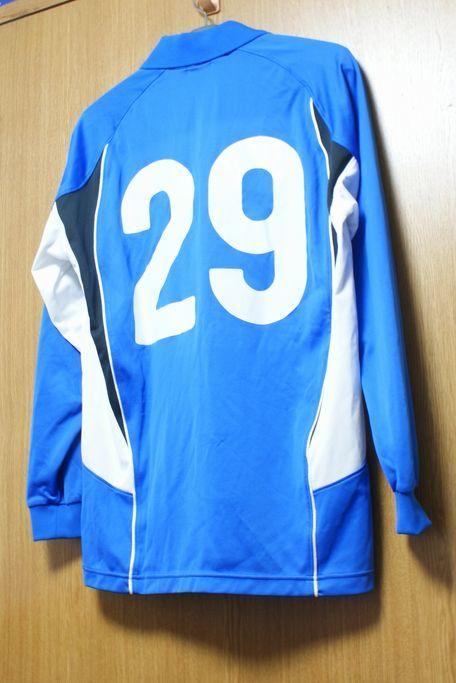 アシックス製 東海大学サッカー部 #29 長袖 ユニフォーム_画像2