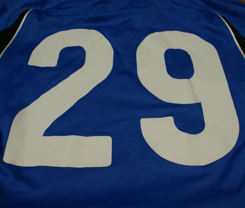 アシックス製 東海大学サッカー部 #29 長袖 ユニフォーム_画像6