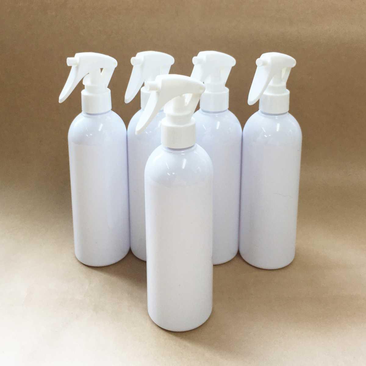 【新品/PET】スプレー空ボトル350ml×5本セット アルコール可能 噴霧ボトル スプレー容器 詰替ボトル 霧吹き ウイルス・コロナ対策_画像1