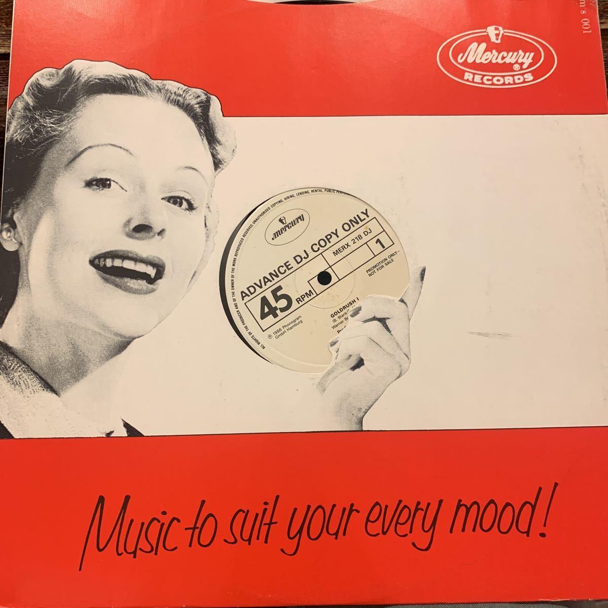 YELLO /GOLD RUSH 中古レコード プロモ盤_画像2