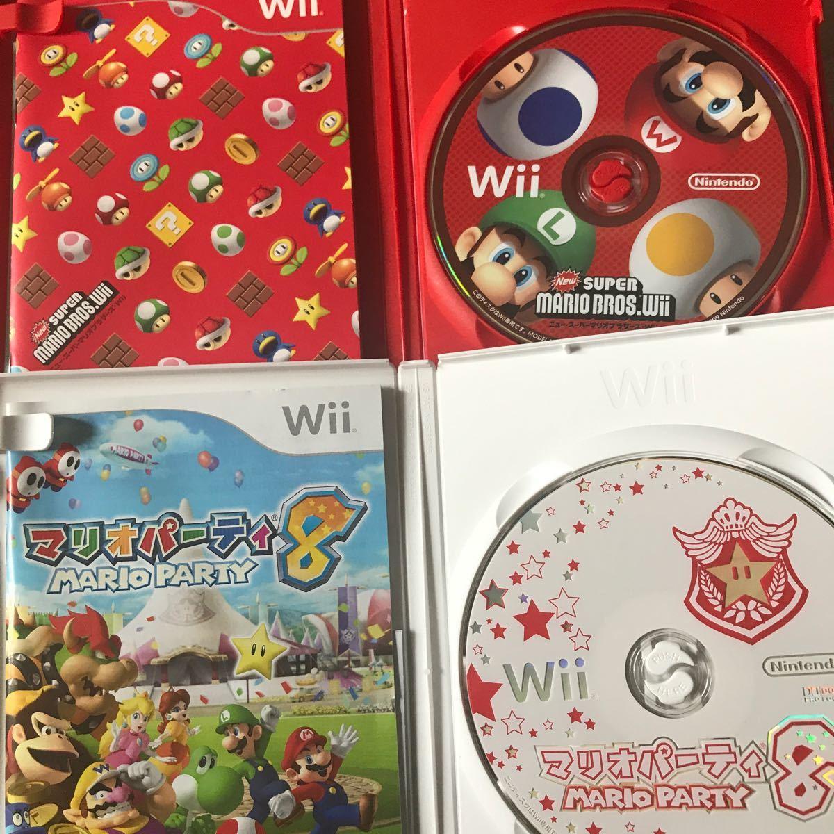 Wii マリオパーティ8 スーパーマリオブラザーズ Wiiソフト