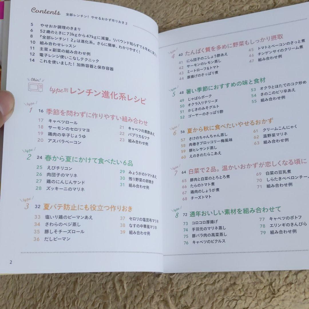 「全部レンチン!やせるおかず作りおき 2」柳澤英子