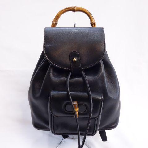 Рюкзак GUCCI Черная женская сумка Рюкзак из теленка Gucci R108-14 Gucci и сумка, сумка и прочее