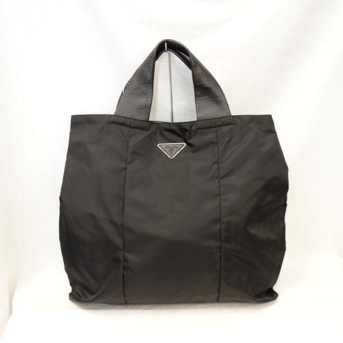 PRADA Prada Tote Bag Сумочка VA0677 Черная черная сумка унисекс r328-15 Сумка, сумка и Prada General и сумочка