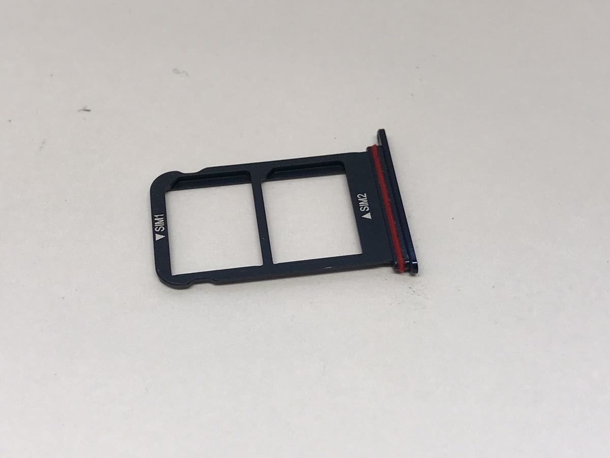 163 SIMフリー HUAWEI Mate10 Pro BLA-L29 ミッドナイトブルー Android10 128GB ケース・フィルム付き_画像8