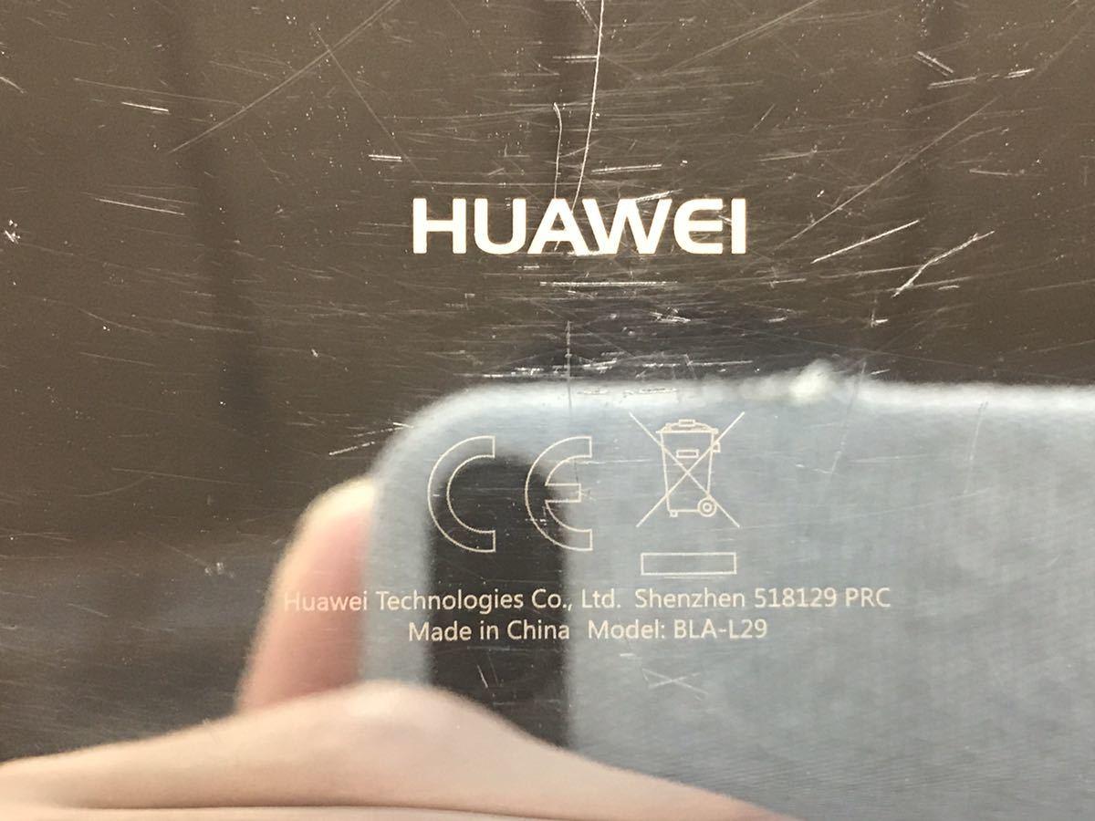163 SIMフリー HUAWEI Mate10 Pro BLA-L29 ミッドナイトブルー Android10 128GB ケース・フィルム付き_画像7
