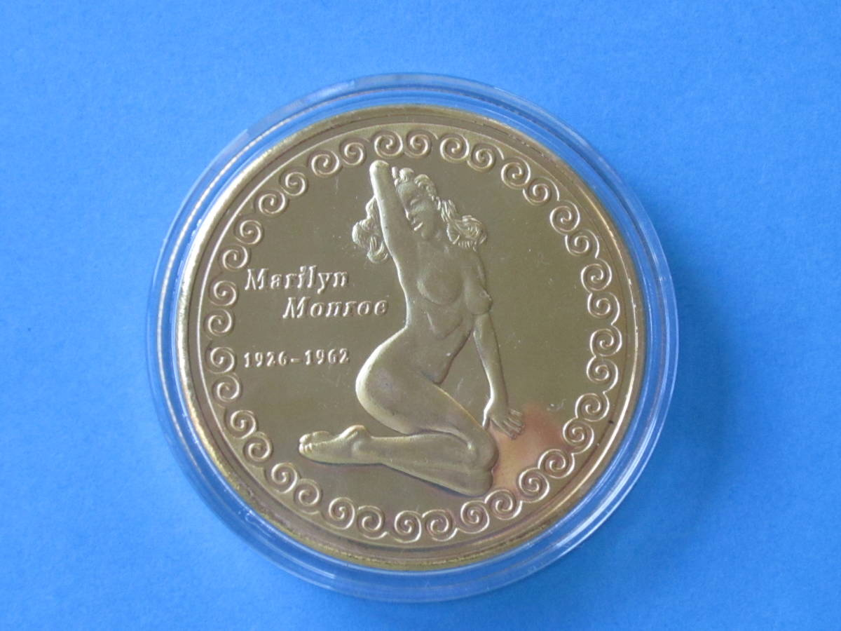 即決【メダル】マリリン・モンロー ⑦ ケース付 _画像2