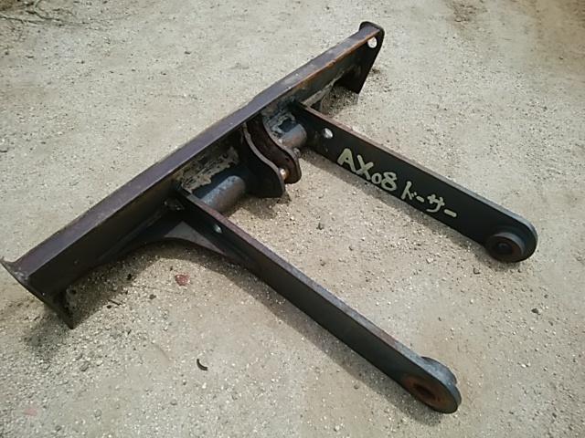 北越工業 AX08-2K ミニ油圧ショベル ドーザー_画像1