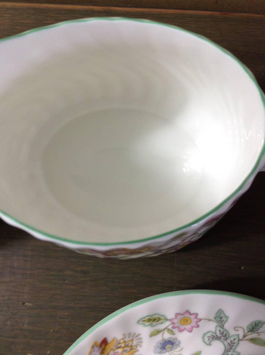 豪華 MINTON ミントン ハドンホール 花柄 食器 まとめて 15点 セット 5種 HADDON HALL カップ シュガーポット プレート_画像6