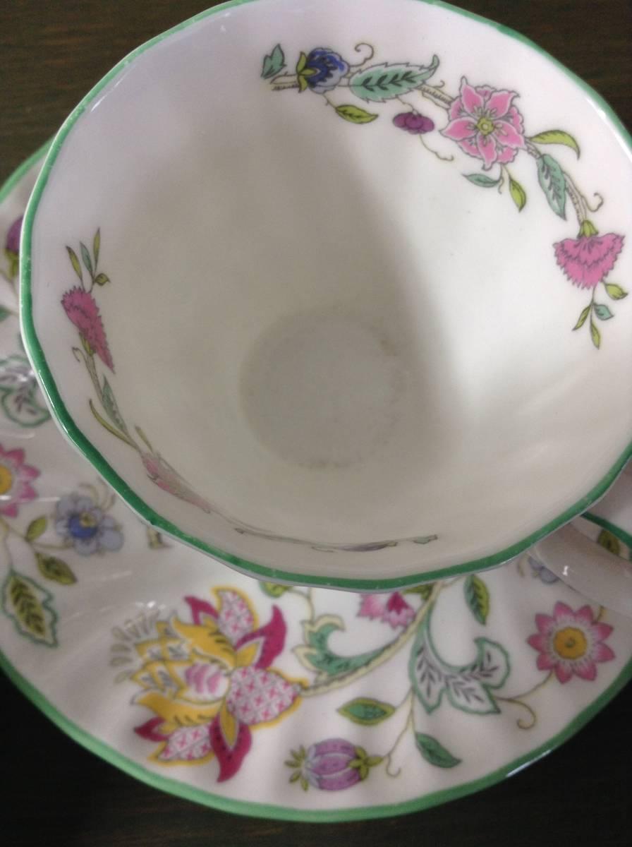 豪華 MINTON ミントン ハドンホール 花柄 食器 まとめて 15点 セット 5種 HADDON HALL カップ シュガーポット プレート_画像5