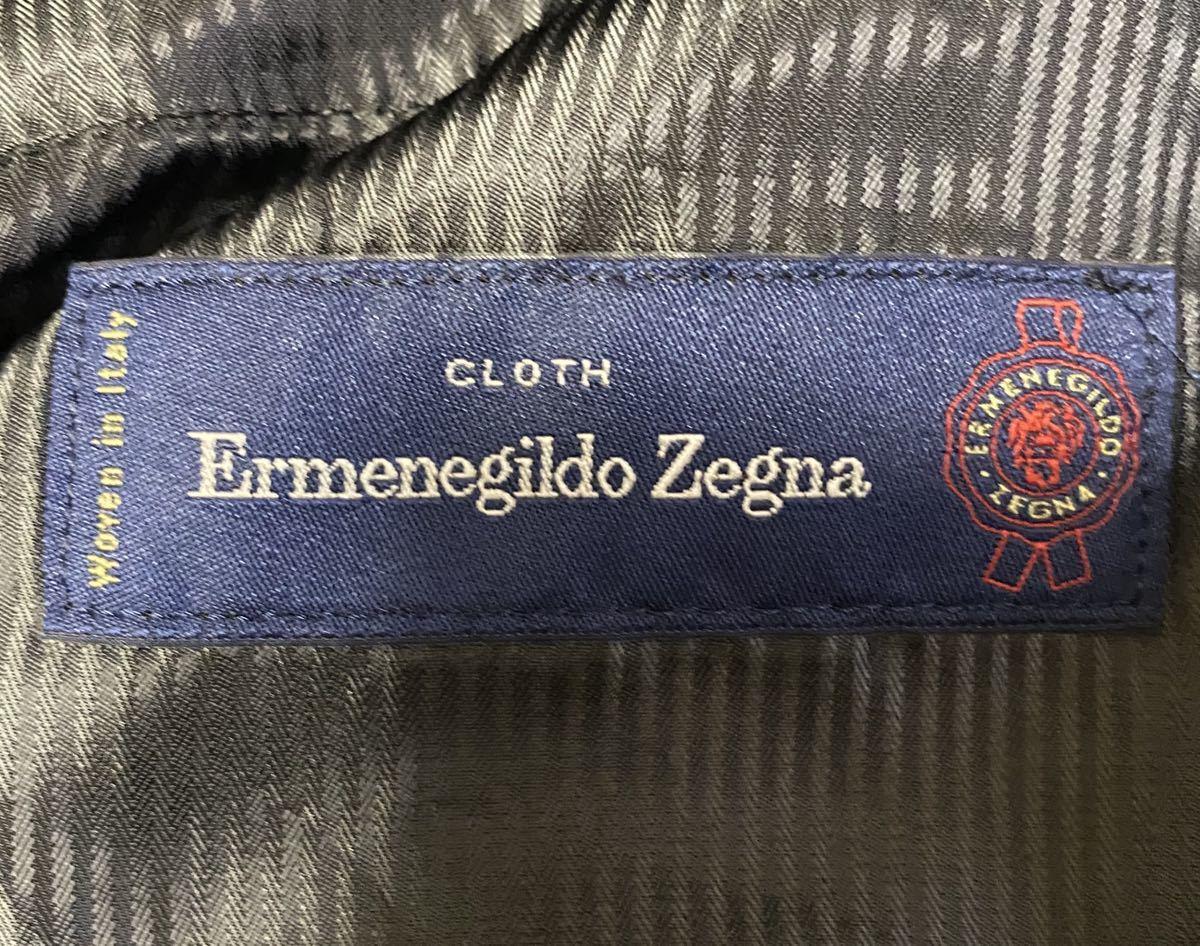 【新品未使用】WACKO MARIA Ermenegildo Zegna Woolストライプパンツ サイズL_画像5
