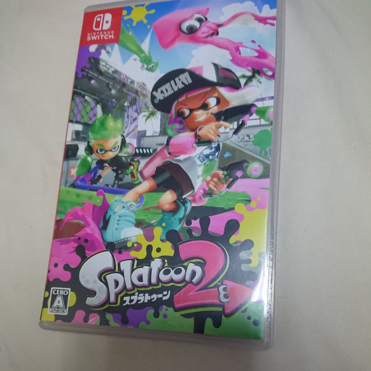 Nintendo Switch スプラトゥーン2 Splatoon2