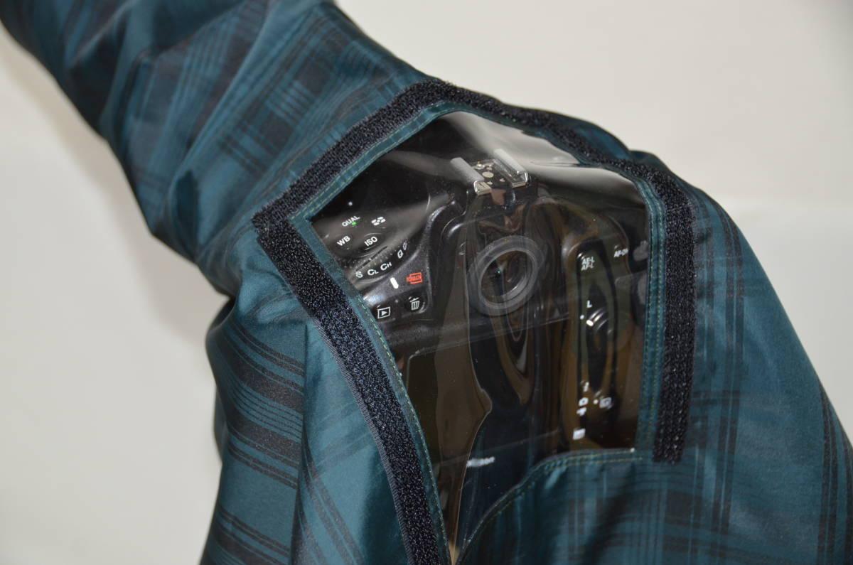 カメラ用レインカバー【窓付】 500mm-1000mm用  オーダーメイド_画像4