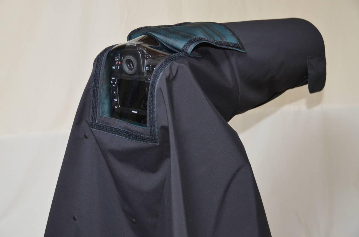 カメラ用レインカバー【窓付】 500mm-1000mm用  オーダーメイド_画像5