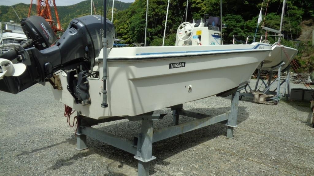 「日産マリーンのプレジャーボート「Joy Fisher 630」です。」の画像2