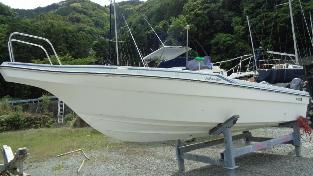 「日産マリーンのプレジャーボート「Joy Fisher 630」です。」の画像1