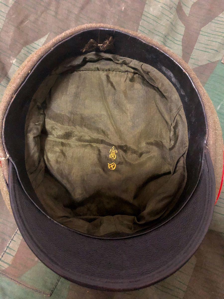 日本軍 日本軍帽子 軍帽 日本陸軍 WW2 大礼服 グルメット_画像3