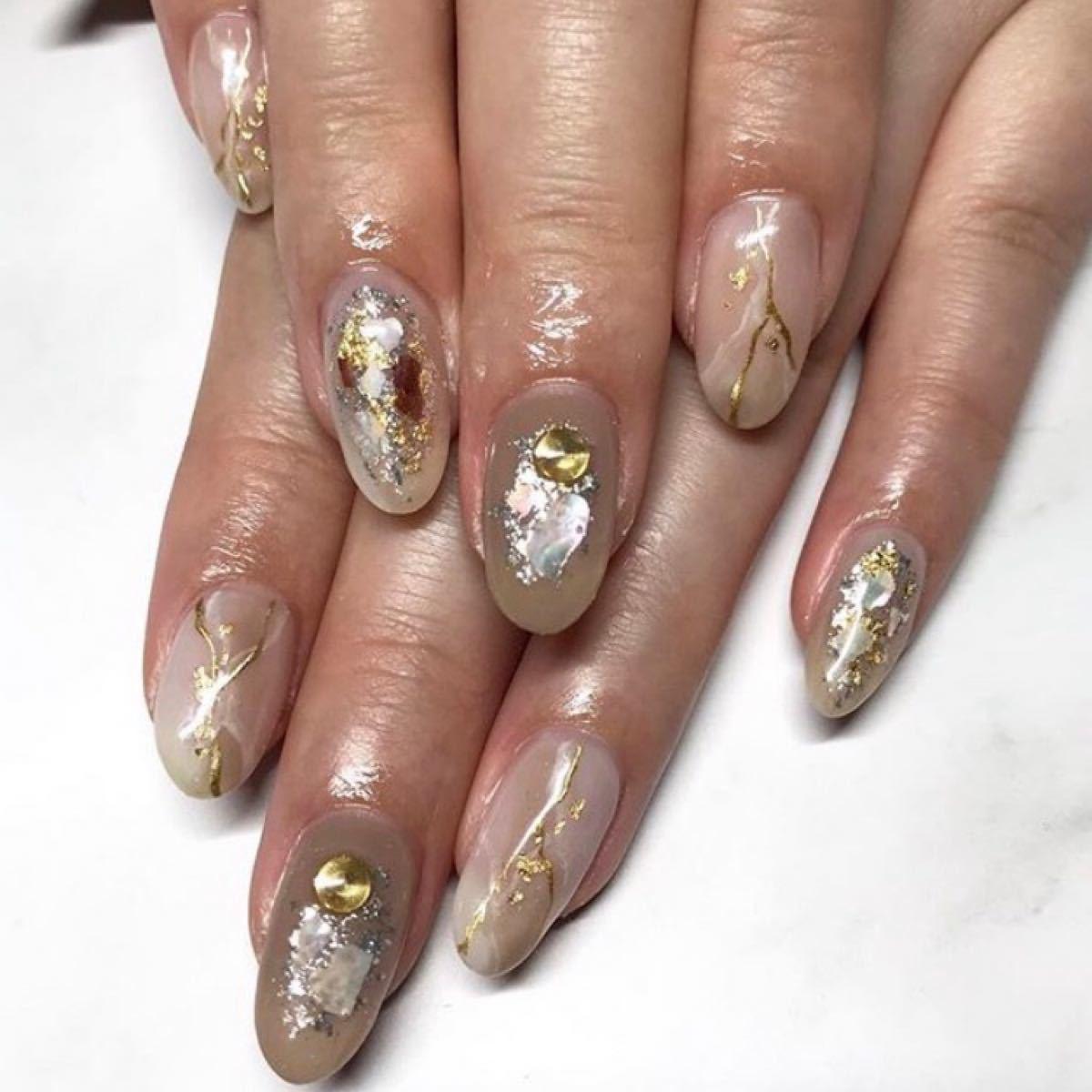 foil glitter champagne gold