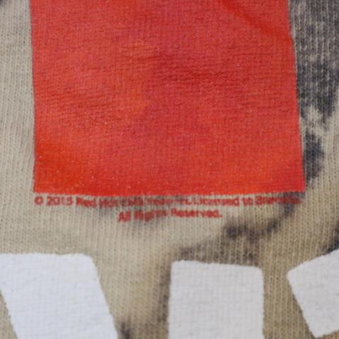 RED HOT CHILI PEPPERS Tシャツ ブリーチ 半袖 ロゴ レッドホットチリペッパーズ レッチリ RHCP オフィシャル バンド ロック_画像4