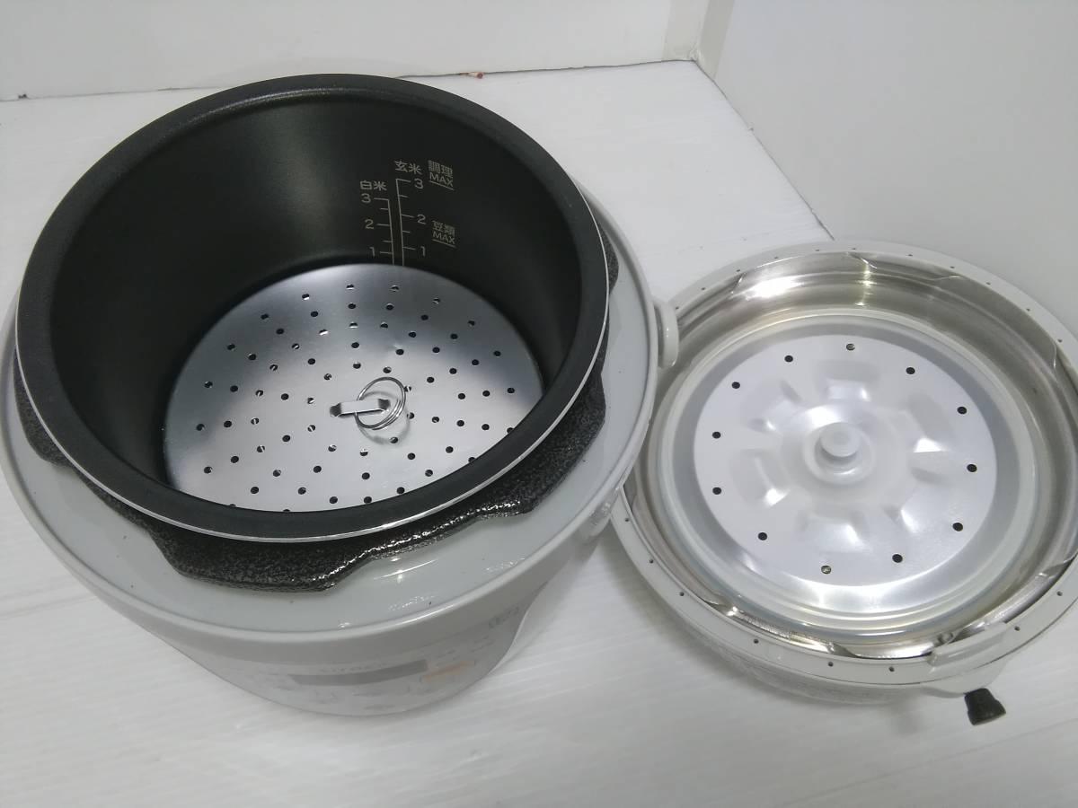 【 送料込 美品 】シロカ 電気圧力鍋 SPC-211 siroca 2017年製