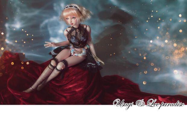 数量限定 2セット BJDドール用衣装セット SDサイズ 人魚姫 球体関節人形 doll 洋服 女用_画像10