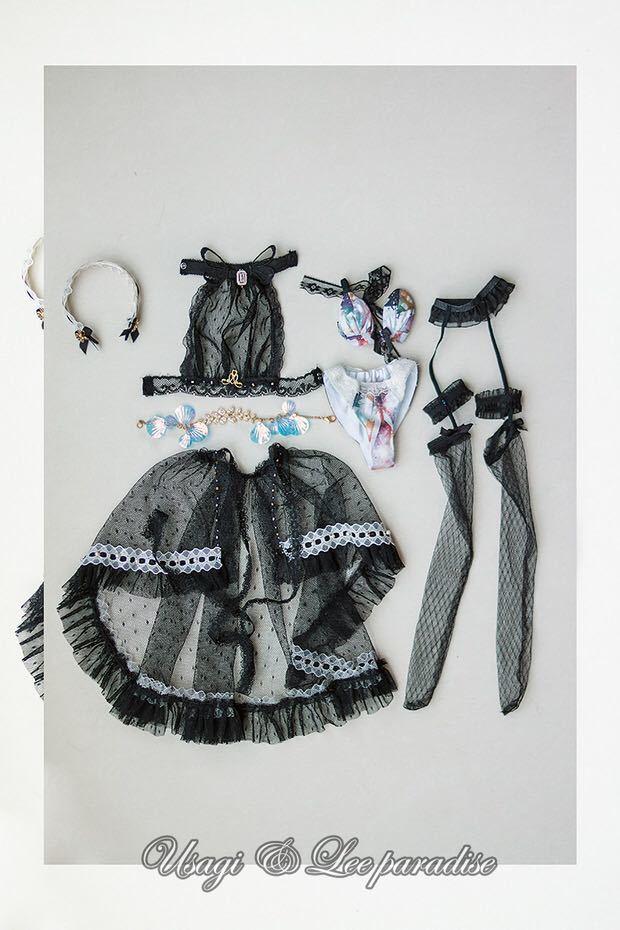 数量限定 2セット BJDドール用衣装セット SDサイズ 人魚姫 球体関節人形 doll 洋服 女用_画像5