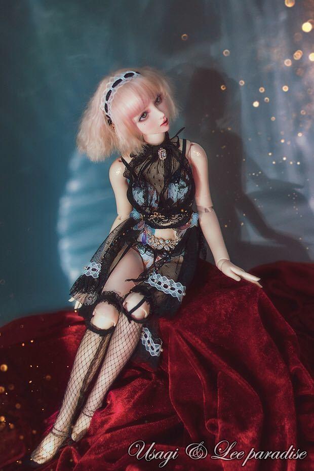 数量限定 2セット BJDドール用衣装セット SDサイズ 人魚姫 球体関節人形 doll 洋服 女用_画像7