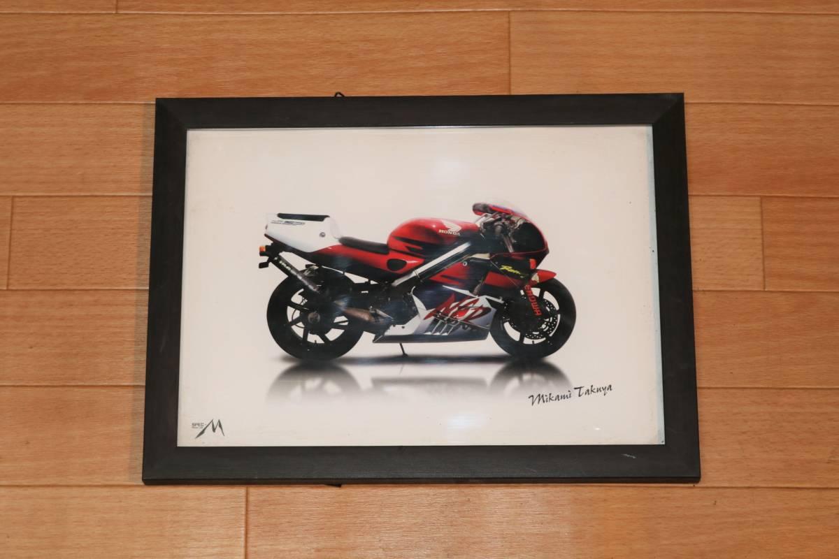 愛車をポスターにしませんか?大切なバイクのポスターを作成します!プレゼントやインテリアに最適!A3サイズ NSR/CBR/RVF/CB400F/CBX/VFR_画像1