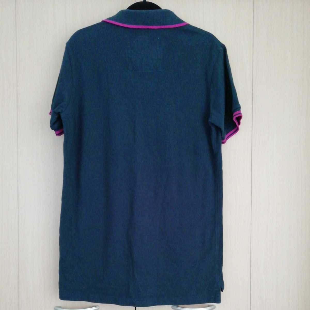 アバクロンビー&フィッチ 半袖ポロシャツ L ネイビー