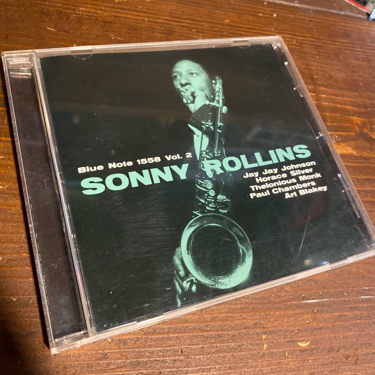 SONNY ROLLINS . vol.2 . BLUE NOTE 1558 輸入盤 _画像1