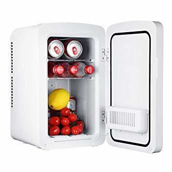 ホワイト 10L OMORC 保冷庫 冷蔵庫 小型 冷温庫 10L ミニ冷蔵庫 -9℃~60℃ 保温・保冷両用 保冷ボックス お_画像2