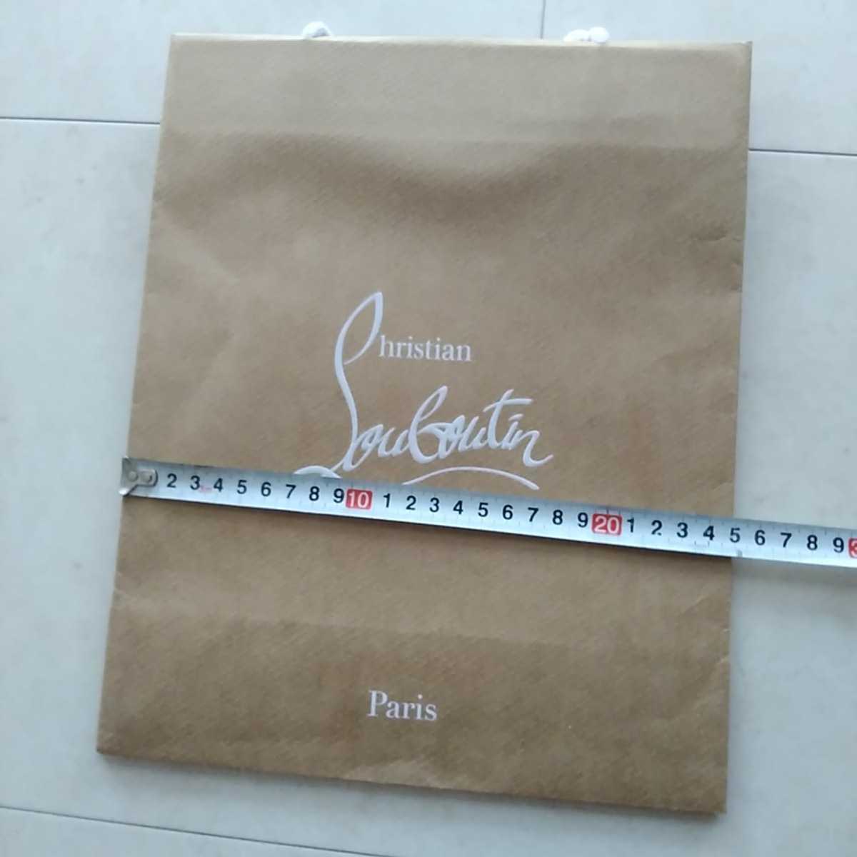 ☆新品☆ルブタンの紙袋☆サイズ小☆クリスチャンルブタン☆自宅保管品_画像5