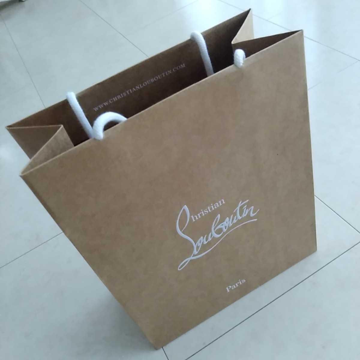 ☆新品☆ルブタンの紙袋☆サイズ小☆クリスチャンルブタン☆自宅保管品_画像1