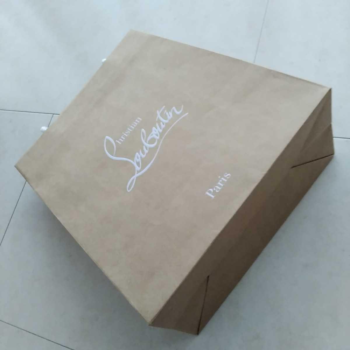 ☆新品☆ルブタンの紙袋☆サイズ小☆クリスチャンルブタン☆自宅保管品_画像7