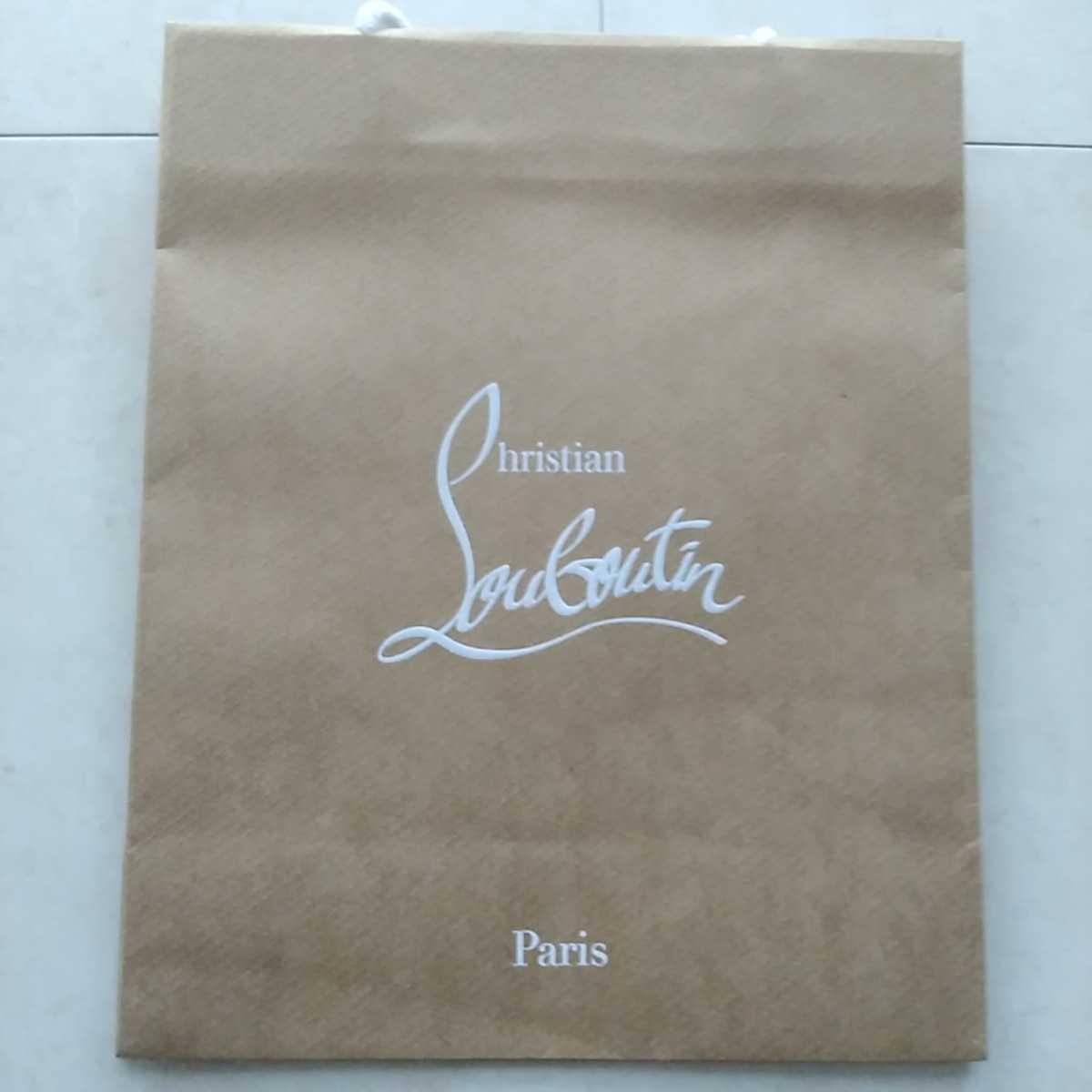 ☆新品☆ルブタンの紙袋☆サイズ小☆クリスチャンルブタン☆自宅保管品_画像2