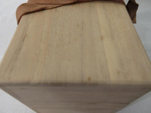 IF08019【年代物 古い 桐 茶掃箱 紙箱有 茶道具】検)水屋道具 茶器 茶事 茶席 木製 木工品 木箱 伝統工芸 日本文化 収納箱 お点前 i_画像10